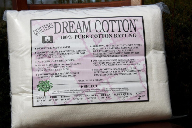Quilter's Dream Cotton Batting - Natural Select-Mid Loft-King