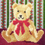 Teddy Bear Needlepoint Kit by Elizabeth Bradley
