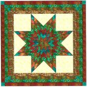 Easy Quilt Kit Brilliant Batik Lonestar