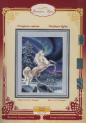 Golden Fleece Needlecraft, Counted Cross Stitch Kit, Northern Lights