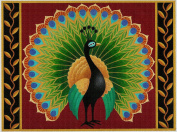 Art Needlepoint Peacock Needlepoint Canvas by Stephanie Stouffer