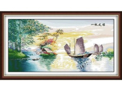 Happy Forever Cross Stitch, Scenery, smooth 9