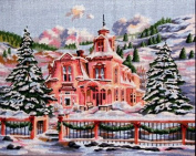 Pegasus Originals Rocky Mountain Christmas Needlepoint Canvas