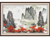 Happy Forever Cross Stitch,The scenery,landscape