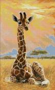 Newborn Giraffe Counted Cross Stitch Kit