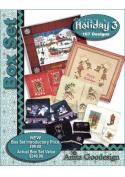 Anita Goodesign Embroidery Designs Holiday BOX SET #3
