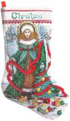 Design Works Christmas Angel Stocking Cross Stitch Kit