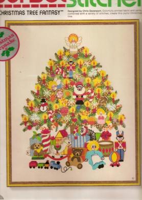 Sunset Stitchery - Christmas Tree Fantasy