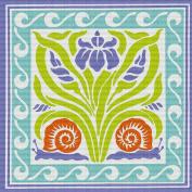 Art Needlepoint Flower Trivet Needlepoint Kit