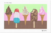 Ice Cream Collage Needlepoint Canvas