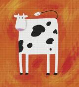 Art Needlepoint Cute Cow Needlepoint Kit