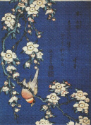 Art Needlepoint Weeping Cherry and Bullfinc Needlepoint h Kit by Hokusai