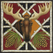 Art Needlepoint Moose Needlepoint Kit