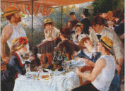 Art Needlepoint Luncheon of the Boating Party Needlepoint by Renioir