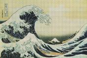 Art Needlepoint Wave Off Kanagawa or Great Wave Kit by Hokusai