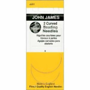 John James Needles - Curved English Beading Needles