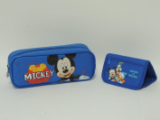 Disney Mickey Mouse Pencil Case and Mickey and Friends Wallet