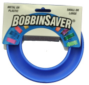 Blue Feather Bobbin Saver Holder Ring