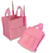 Royal Pink Art Collapsable Brush Bucket