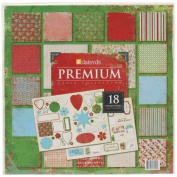 Daisy D's Paisley Sugarplum Paper Pack 30cm x 30cm