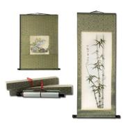 Golden Panda Eastern Artist Scroll Xian (Traditional) Size B