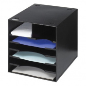 Safco Steel Desktop Organiser, 7 Compartment