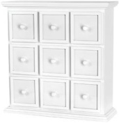 New - Fashion Furnishings Apothecary Chest 19.5X20X6.5 by Doodlebug