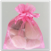 300 Hot Pink Wedding Organza Favour Gift Bags 15cm x 23cm
