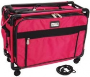 New - Tutto Craft On Wheels Medium Case 20X14X9 - Pink by Tutto
