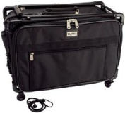 New - Tutto Craft On Wheels Large Case 22X15X12 - Black by Tutto