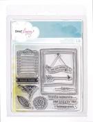 Dear Lizzy 5th & Frolic Acrylic Stamps 10cm x 10cm -