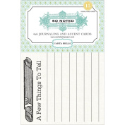 Carta Bella Journaling Cards So Noted