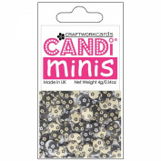 Candi Dot Printed Embellishments .410ml-Isabella
