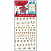 Dazzles Stickers -318 Gold Star