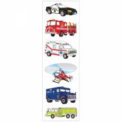 Mrs. Grossman's Stickers-Emergency Vehicles