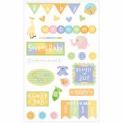 Mrs. Grossman's Stickers-Baby Shower