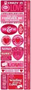 Reminisce Love Potion Valentine's Day Combo Scrapbook Sticker