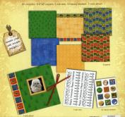 Christmas Themed 20cm X 20cm Mini Scrapbook Kit