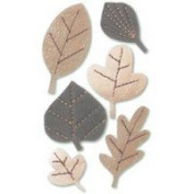 New Jolee's Boutique Dimensional Stickers Leatherettes Autumn Leaves