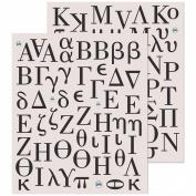 K & Company Greek Alphabet Sticker Medley