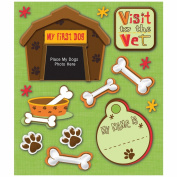 K & Company First Pet Dog Sticker Medley