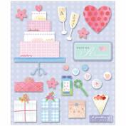 Life's Little Occasions Sticker Medley-Wedding Reception