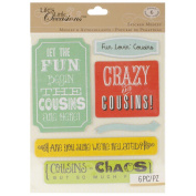 Life's Little Occasions Sticker Medley-Cousins