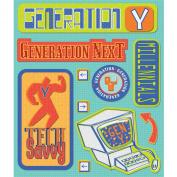 K & Company Generation Y Sticker Medley