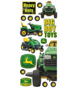 John Deere Contemporary Jumbo Stickers-Lawn