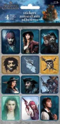 Pirates of the Caribbean 4 Standard Stickers