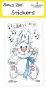 "Suzy's Zoo Stickers 4-pack, ""Lullaby Time"" 10128"