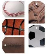 Sports Reality Tags (3 sheets)