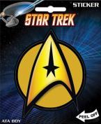 Star Trek - Command Insignia Die Cut Vinyl Sticker Decal