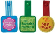 Around The Block - Words Magnetic Clips
